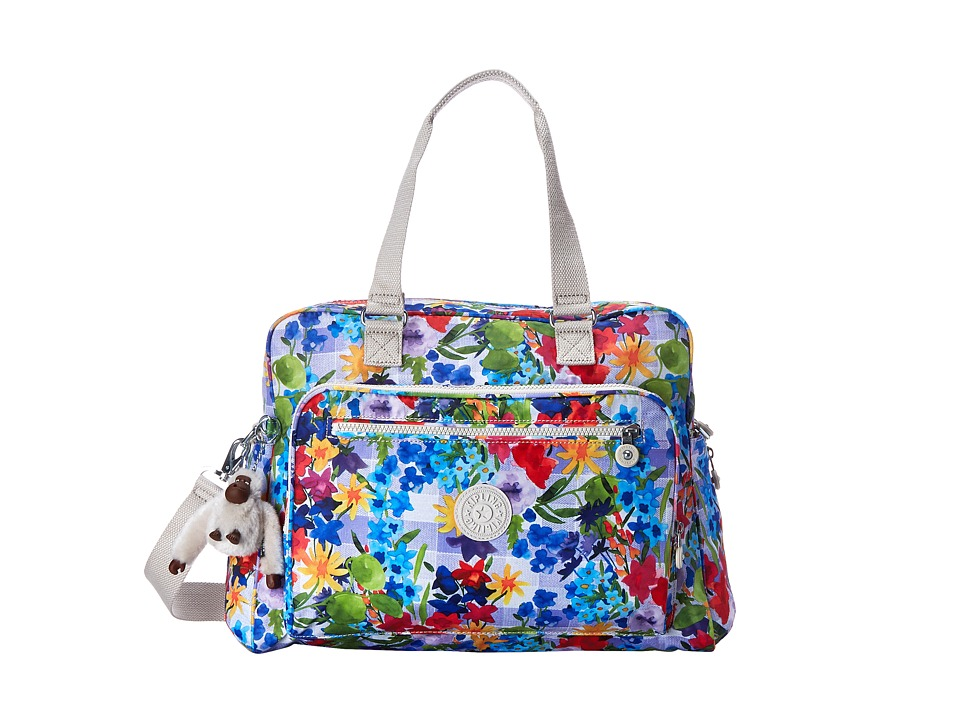 Kipling Alanna Printed Baby Bag Picnic In The Park Diaper Bags