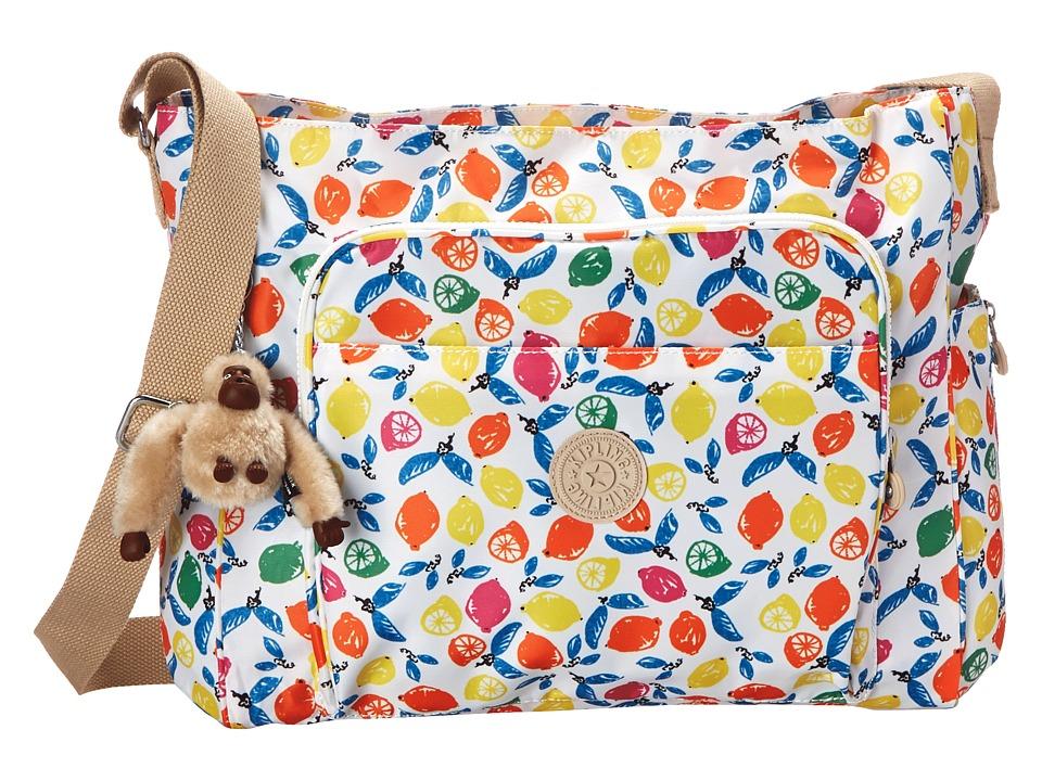 Kipling - Kyler Printed Baby Bag (Citrus Smash) Diaper Bags