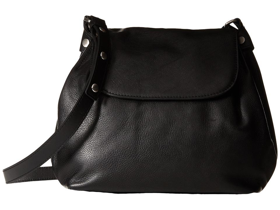 ECCO - Fortine Crossbody (Black) Cross Body Handbags