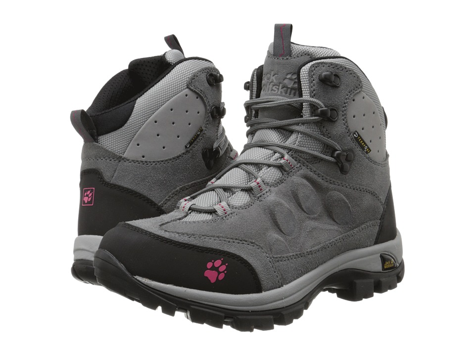 Jack Wolfskin Advance Texapore O2 Mid Tarmac Grey Womens Shoes