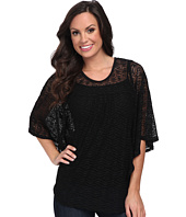 Scully - Abiageal Beautiful Dolman Crochet Lace Top