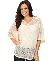 Scully - Adara Beautiful Dolman Crochet Lace Top