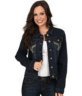 Scully - Kasey Embroidered Pocket Denim Jacket