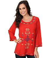 Scully - Filia Embroidered Front and Back Top