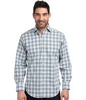 Thomas Dean & Co. - L/S Woven Classic Plaid
