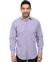Thomas Dean & Co. - Textured Check L/S Woven Shirt