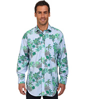 Thomas Dean & Co. - Tropical Print L/S Woven Shirt
