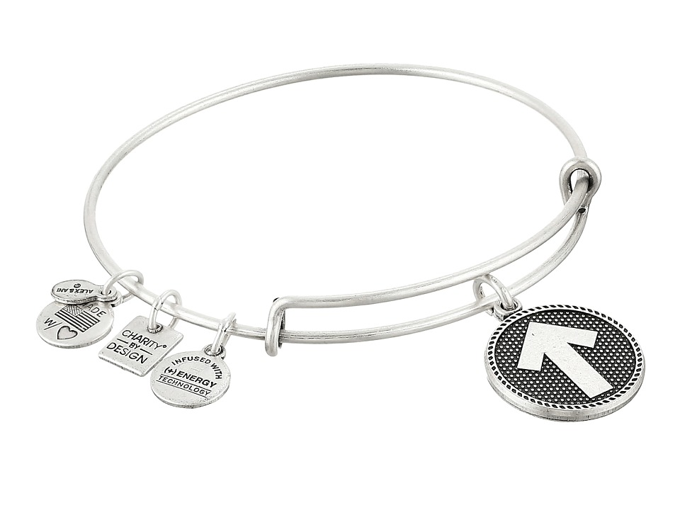 Alex and Ani - Charity By Design - Stand Up to Cancer Bracelet (Rafaelian Silver Finish) Bracelet