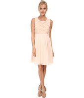 Yumi - Soft Chiffon Dress w/ 3D Beaded Flower Detailing
