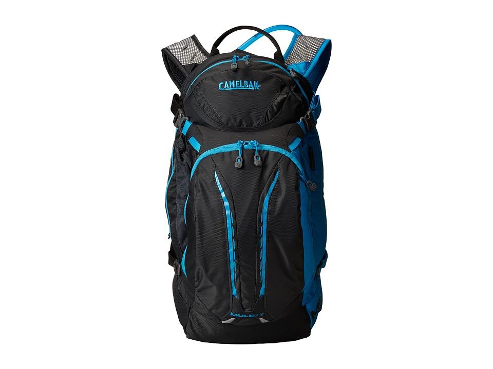 CamelBak - M.U.L.E. NV 100 oz (Charcoal/Atomic Blue) Backpack Bags