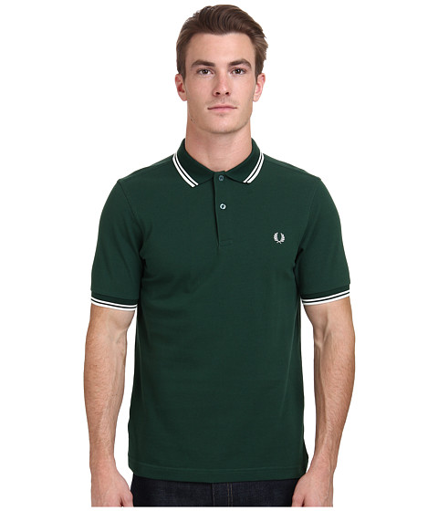 fred perry slim fit twin tipped fred perry polo. Black Bedroom Furniture Sets. Home Design Ideas
