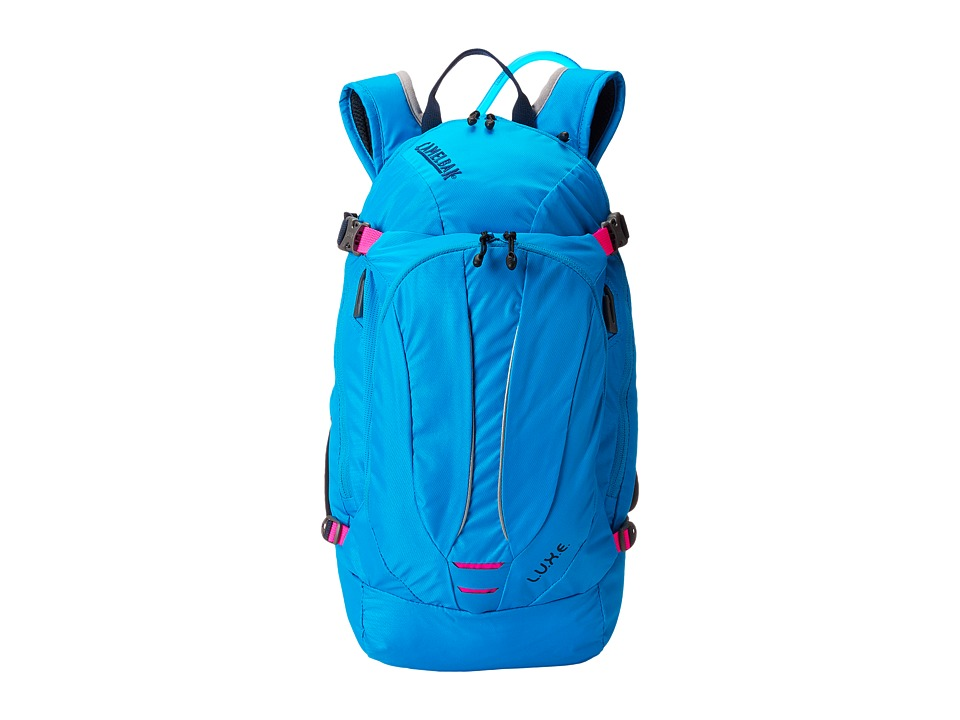 CamelBak - L.U.X.E. 100 oz. (Atomic Blue/Black Iris) Backpack Bags