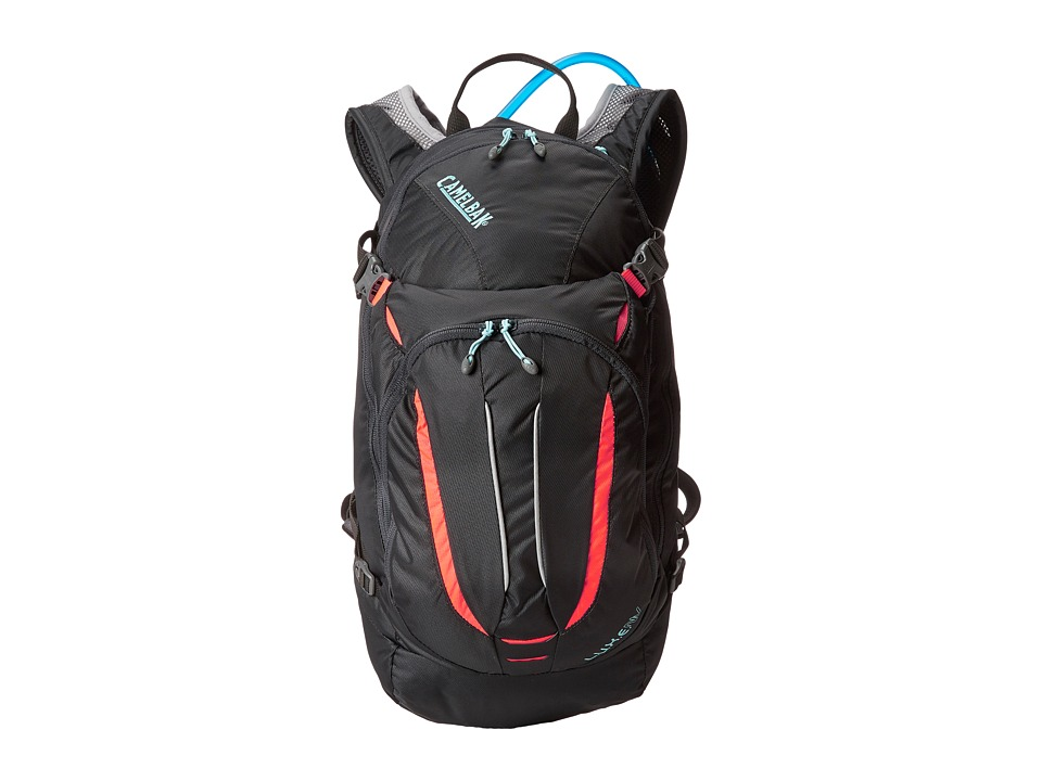 CamelBak L.U.X.E. NV 100 o.z Charcoal/Fiery Coral Backpack Bags