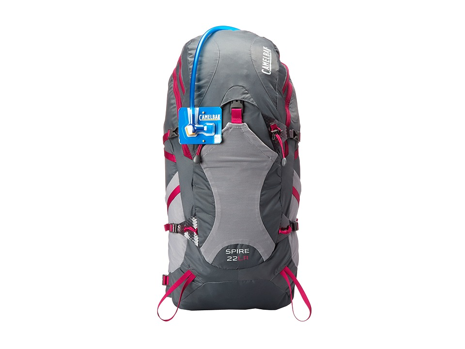CamelBak Spire 22 LR 100 oz Graphite/Bright Fuchsia Backpack Bags