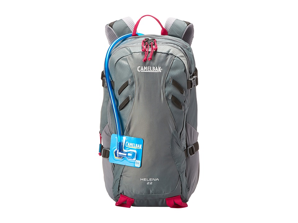CamelBak - Helena 22 100 oz (Graphite/Bright Fuchsia) Backpack Bags