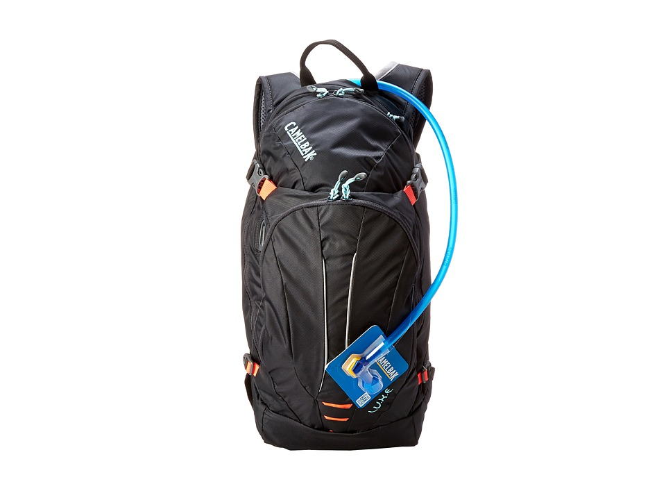 CamelBak - L.U.X.E. 100 oz. (Charcoal/Fiery Coral) Backpack Bags