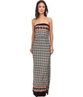 Gabriella Rocha - Strapless Printed Maxi Dress