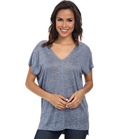Splendid - Melange Linen Jersey Shirt