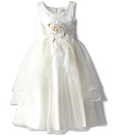 Us Angels - Tank Top Dress w/ Layers of Organza Skirt (Little Kids)