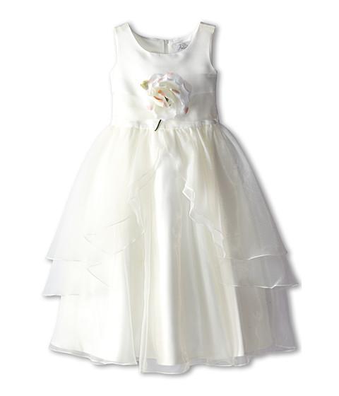 Us Angels Tank Top Dress w/ Layers of Organza Skirt (Little Kids)