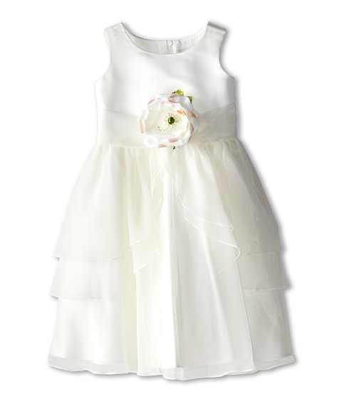 Us Angels Tank Top Dress w/ Layers of Organza Skirt (Toddler)