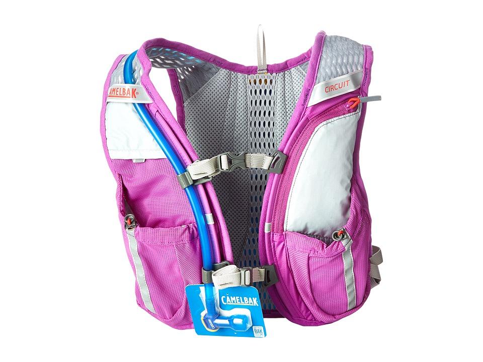 CamelBak Circuit 50 oz Purple Cactus Flower/Flame Scarlet Backpack Bags
