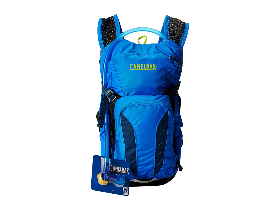CamelBak Mini M.U.L.E. 50 o.z Youth Electric Blue/Poseidon Backpack Bags