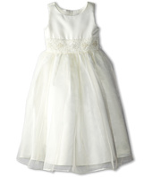 Us Angels - Bead Sash Organza Dress (Little Kids)
