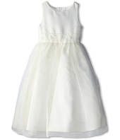 Us Angels - Bead Sash Organza Dress (Big Kids)