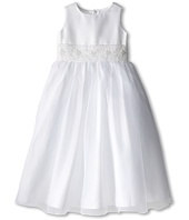 Us Angels - Sleeveless with Beaded Cumberbund Dress (Little Kids)