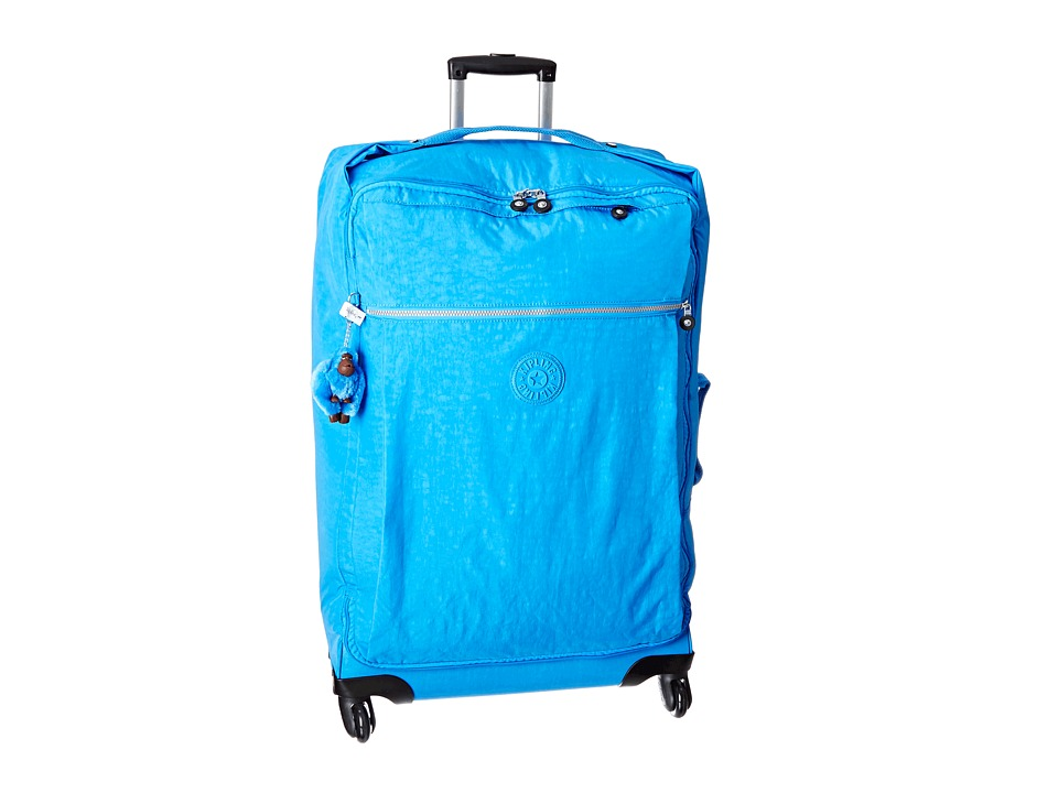 Kipling Darcey Large Wheeled Luggage Blue Jay Luggage