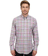 Thomas Dean & Co. - Oxford Check L/S Woven Button-Down Collar Shirt