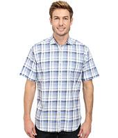 Thomas Dean & Co. - Classic Plaid S/S Woven Shirt