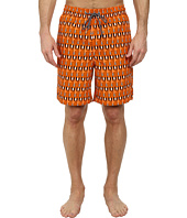 Thomas Dean & Co. - Paddle Print Easy Fit Swim Shorts