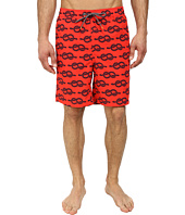 Thomas Dean & Co. - Rope Knot Print Easy Fit Swim Shorts
