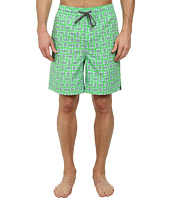 Thomas Dean & Co. - Flip-Flop Print Easy Fit Swim Shorts