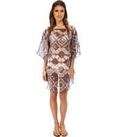 Echo Design - Batik Floral Flutter Caftan Cover-Up