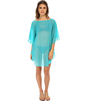 Echo Design - Solid Flutter Caftan Cover-Up