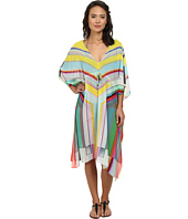 Echo Design - Hypnotic Stripe Double V Dress Cover-Up