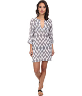 Echo Design - Ikat Sequined Tunic Cover-Up