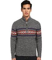 Jack Spade - Belmont Half Zip Fair Isle Sweater
