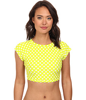 Roxy - Optic Nature S/S Crop Rashguard