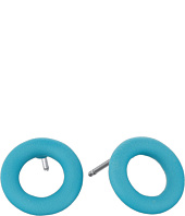 Marc by Marc Jacobs - Rubberized Doughnut Studs Earrings