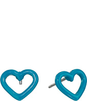 Marc by Marc Jacobs - Open Heart Studs Earring