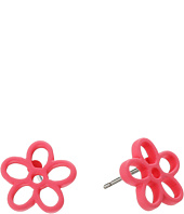 Marc by Marc Jacobs - Rubberized Daisy Studs Earrings