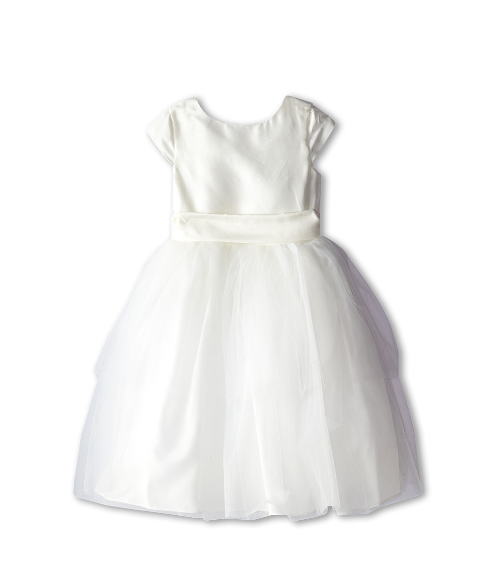 Us Angels - Cap Sleeve Silk and Tulle Dress