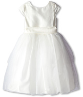 Us Angels - Cap Sleeve Silk and Tulle Dress (Little Kids)
