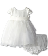 Us Angels - Cap Sleeve Silk and Tulle Dress (Infant)