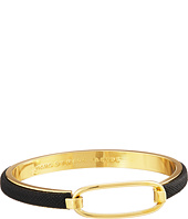 Marc by Marc Jacobs - Bubble Leather Hinge Cuff Bracelet