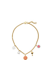 Marc by Marc Jacobs - Logo Disc-O Happy House Charm Necklace